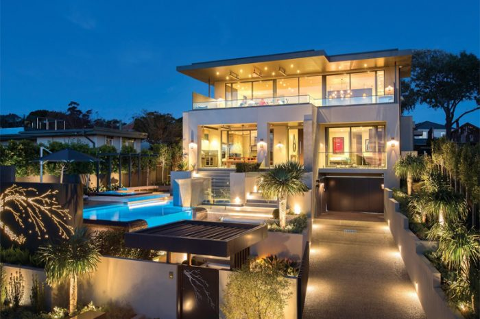 Model Home Landscape Lighting