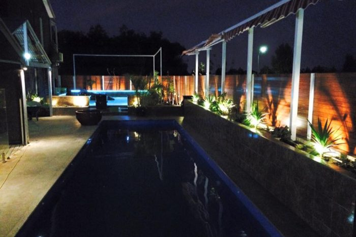 Pool Lighting Design
