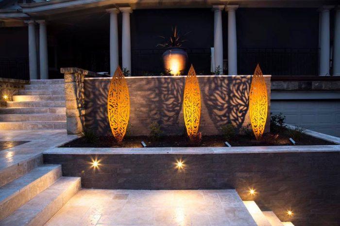 Led Garden Lights Outdoor Lighting Ideas Perth Garden